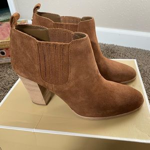 Michael Kors Shaw boogie in caramel suede